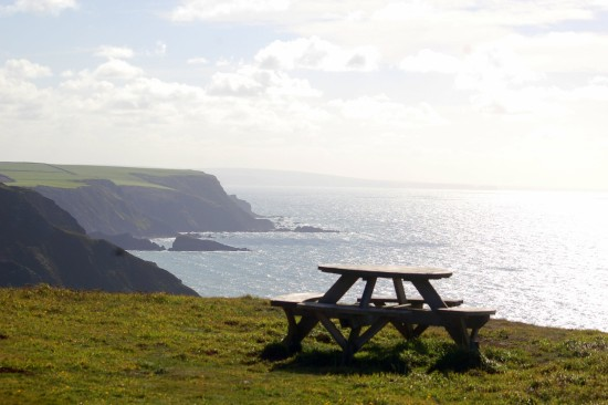 north devon coast welcombe picnic