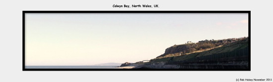 colwyn Bay North Wales UK November 2011 Rob Hickey