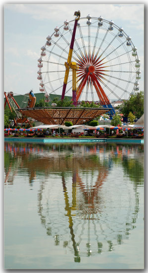 lunapark reflection