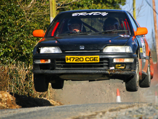 Rally Car Roosky Rosscommon Ireland Peter OSullivan