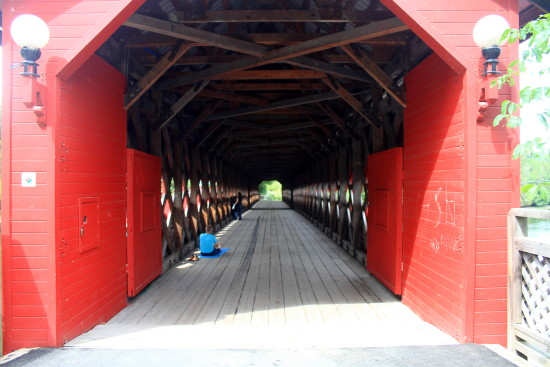 covered bridge wakefield quebec