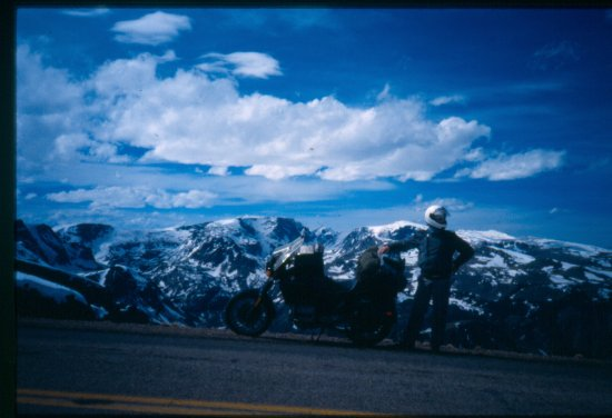 motorcycle touring mountains