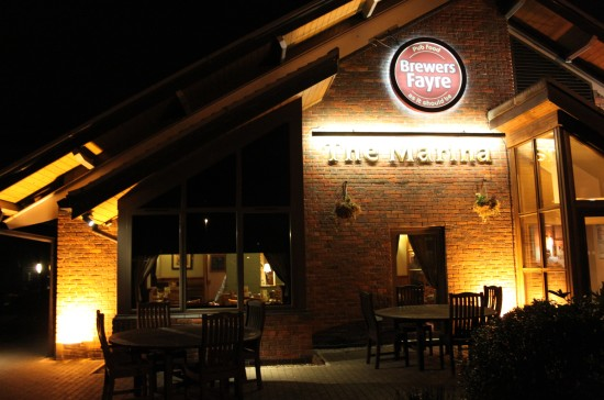Midnight Marina Brewers Fayre Hinckley Leicestershire