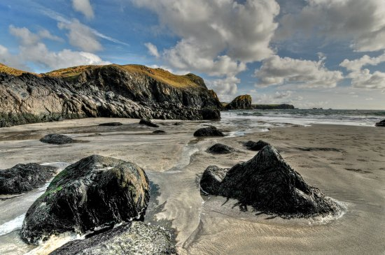 Kynance Cove. Near Lizard point in Cornwall. 