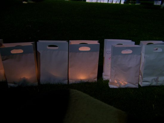Memories RelayForLife Cancer Fundraiser Night Special Light 2007