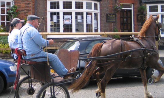 Kings Langley Horse and Cart Ford Ka