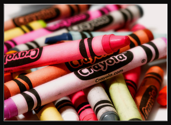 crayon color