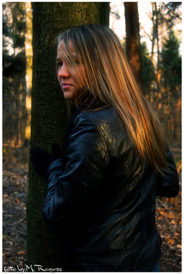 in the forest:)
