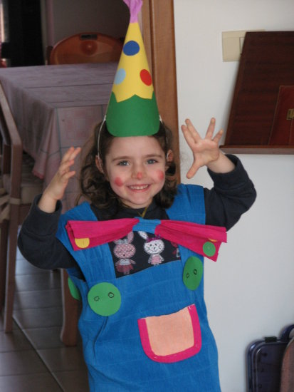 giulia child carnival dress clownfriday