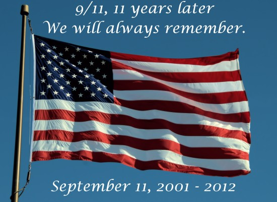 us usa flag 911 12h anniversary never forget tragedy heroes 091112