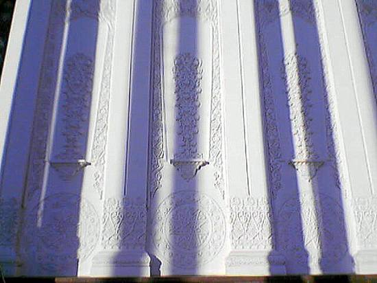 oriental architecture uzbekistan russia moscow park middleasian wall shades ivor