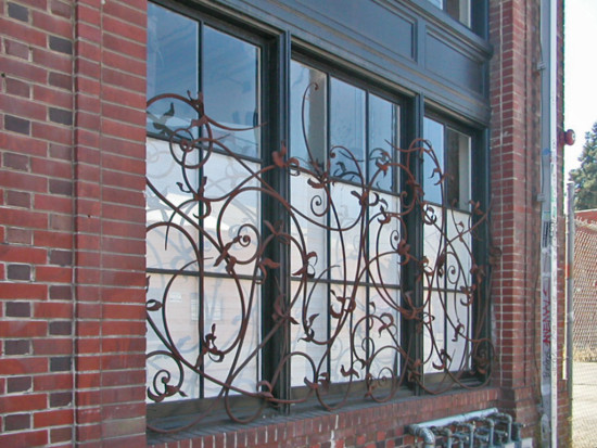 window windowclub ironwork reflections oakland oaklandartfph