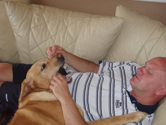 me gary number one cleaner brandy my dog love for all time