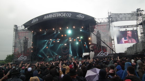 Hellfest fest turbonegro crowd metal clisson