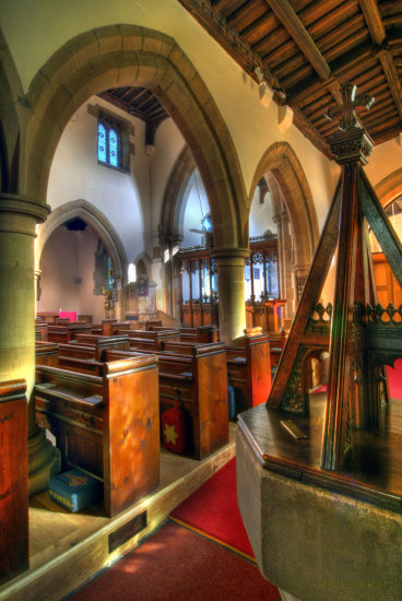 HDR Architecture Church