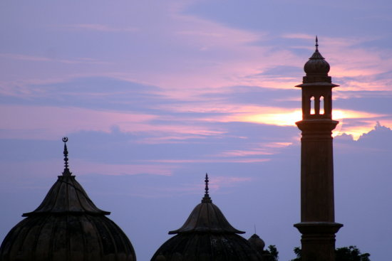 zespook Lucknow India sunset