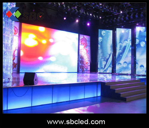 LED sign with high brightness for outdoor shows