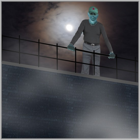 View Top Roof Fog Dark Moon Light Reliability Check
