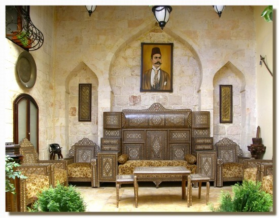 syria aleppo architecture house interior syrix alepx archs houss intes