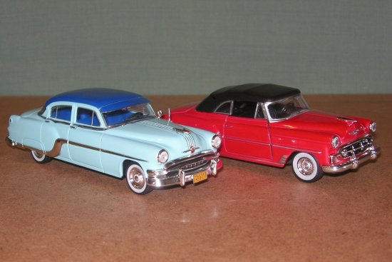 1954 pontiac chieftein 143 scale toy chevrolet premiumx