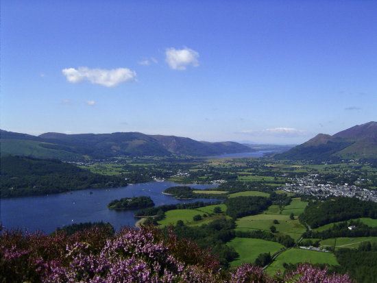 View of Keswick Lake District