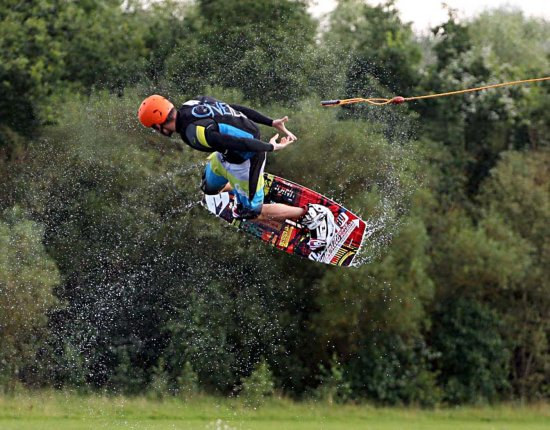Cable Ski championships Rother Valley country park water sport