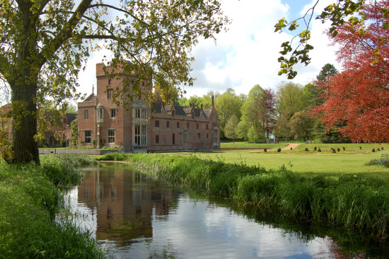 oxburgh hall norfolk reflection