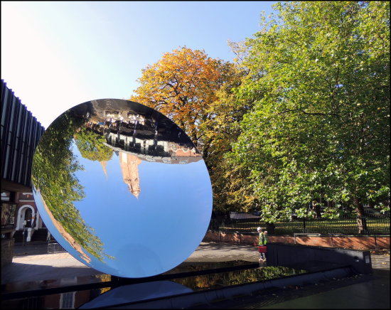 reflectionthursday skymirror nottingham