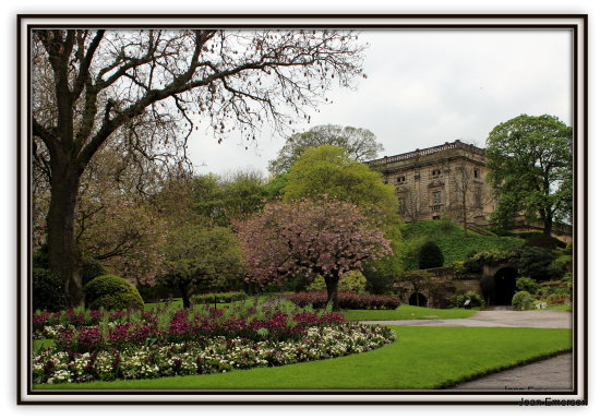 Nottingham Castle grounds