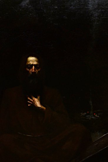 A cropped version (my cropping) of The Temptation of St. Antoni by Lucjan Wędrychowski (1854–1...