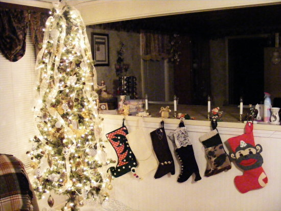 I made all the stockings check em out