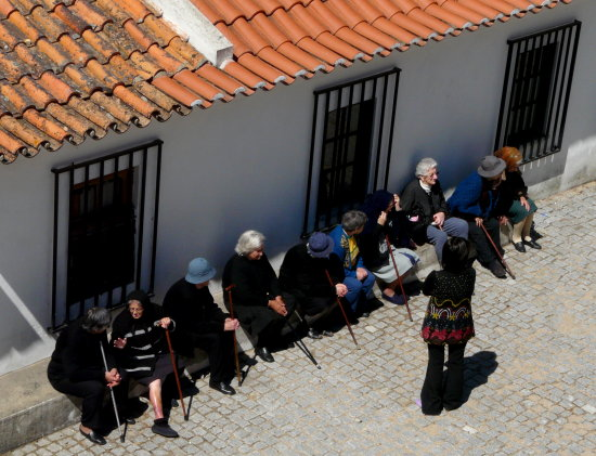 Old ladies Portugal