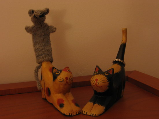 mouse cats