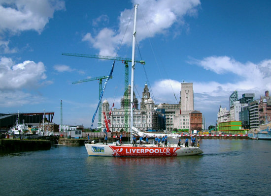 Liverpool clipper boat race