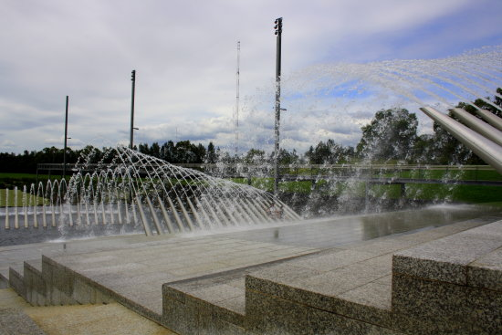 bicentennial park homebush this was created in the 80,s to celebrate australia bicentennial in 1988