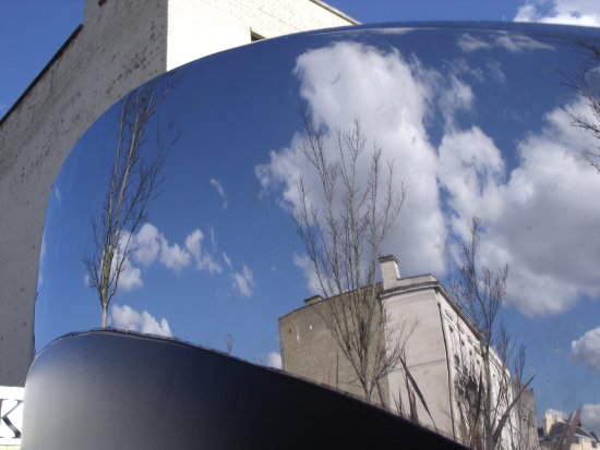 abstract reflection distortion sky environment
