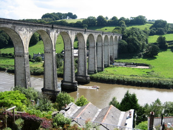 river bridges boats calstock