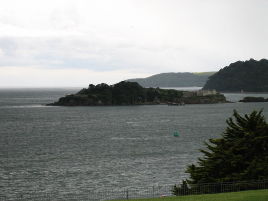 Plymouth Hoe Drakes Island