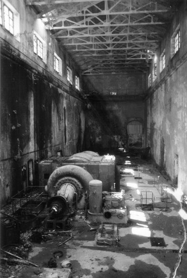 BW Ilford abandoned place factory