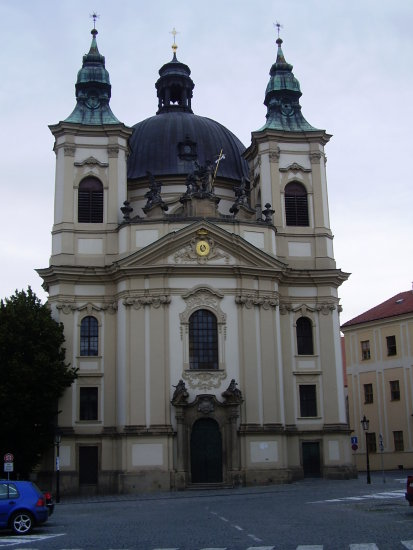 CzechRepublic Moravia Sights Church Kromeriz