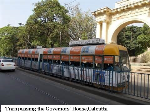 CalcuttaKolkata India Tram