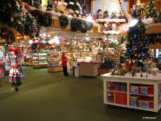 A visit to Bronner's - The World's largest Christmas Store. The ...