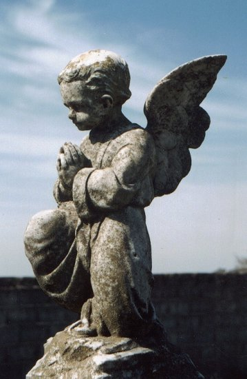 sculpture cemetery angel