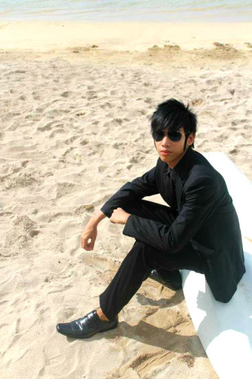 Tj Cruz Timothy John Cruz Formal Wear Bolinao Beach Philippines