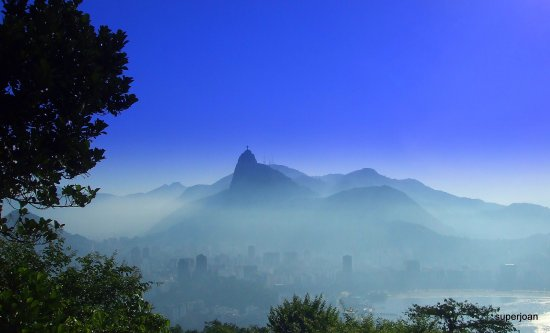 From Sugar loaf mountain