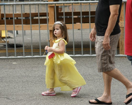 Bastille Day 2009 Little Princess in Yellow