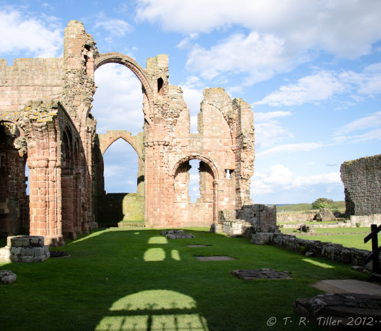 lindisfarne abbey ruins church