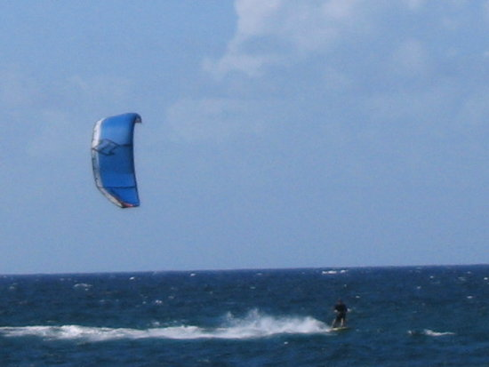 Kite Boarding in Hawaii