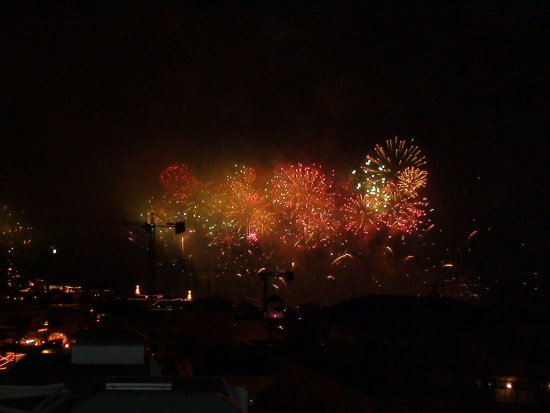 Funchal Madeira New year