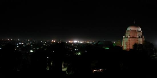 Pakistan Punjab Multan Night Light Building